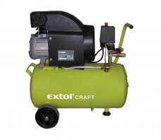 EXTOL CRAFT kompresor olejový, 1500W, 24l