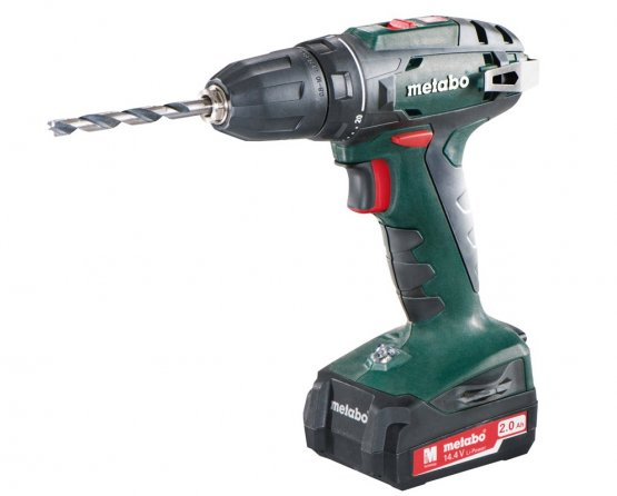 Metabo BS 14,4 aku vrtačka 2x2.0Ah Li-Ion 1,5-13mm